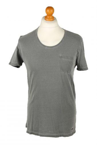 Hugo Boss Mens T-Shirt Tee Crew Neck Grey S