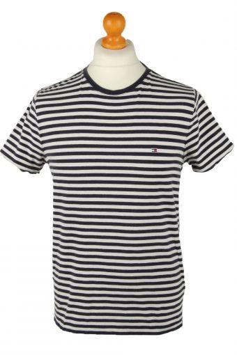 Tommy Hilfiger Mens T-Shirt Crew Neck Navy Blue L