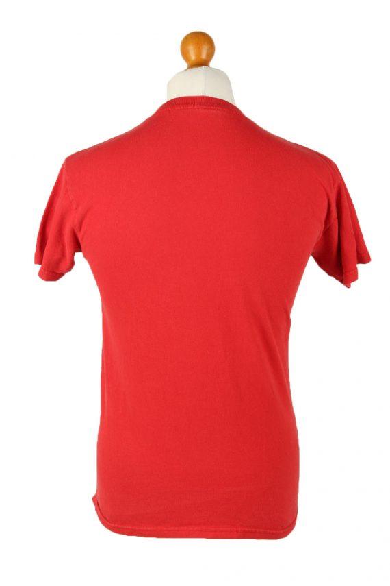 Vintage Unisex Crew Neck T-Shirt Red TS534-142061