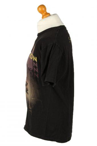 Vintage Awolnation Unisex T-Shirt Tee Rock Band Crew Neck L Black TS545-142104
