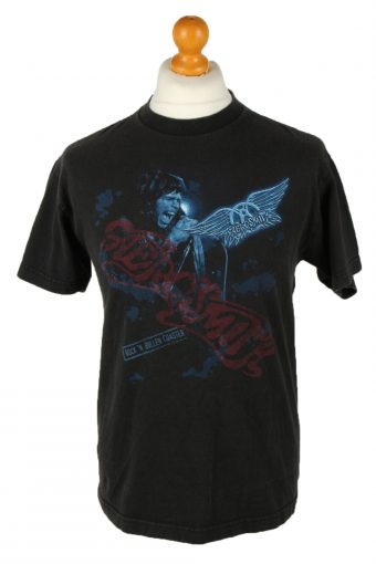 90s T-Shirt Rock'n Roll Crew Neck Black M