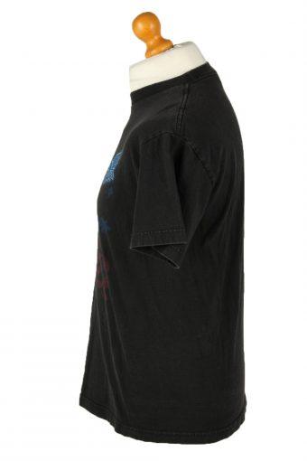 Vintage Aeorosmith Unisex T-Shirt Tee Rock'n Roll Crew Neck M Black TS546-142108