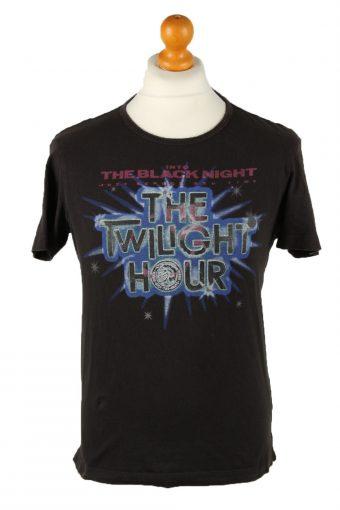Diesel T-Shirt The Twilight Hour Black M