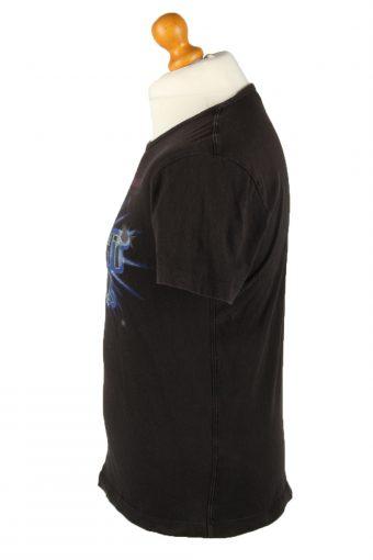 Vintage Diesel Unisex T-Shirt Tee The Twilight Hour M Black TS556-142148