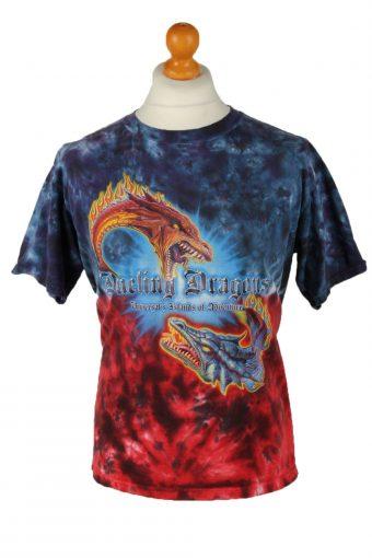 Tie Dye T-Shirt 90s Retro M