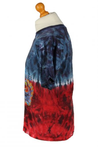 Vintage Tie Dye Unisex T-Shirt Tee Retro S/M Multi TS580-142354