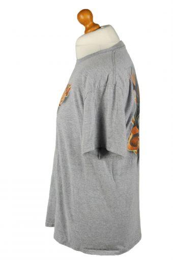 Vintage Eskimo Joe's Unisex T-Shirt Tee Top Crew Neck Printed L Grey TS587-142382