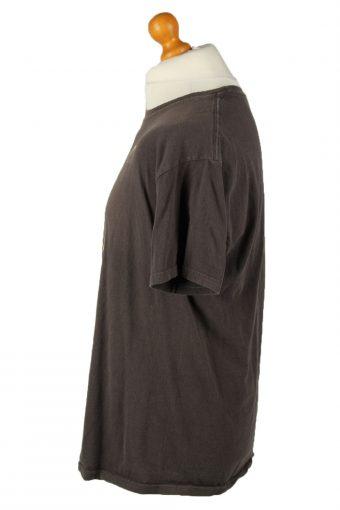Vintage Wonder Woman Printed Unisex T-Shirt Tee Top Crew Neck L Brown TS596-142415