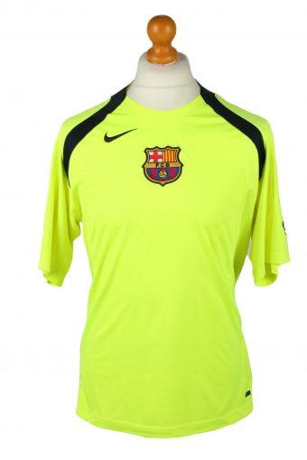Nike Football Jersey Shirt T-Shirt FC Barcelona Spain Yellow M