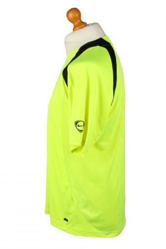 Vintage Nike Football Jersey Shirt T-Shirt FC Barcelona Spain 39-41 Yellow TS621-142796