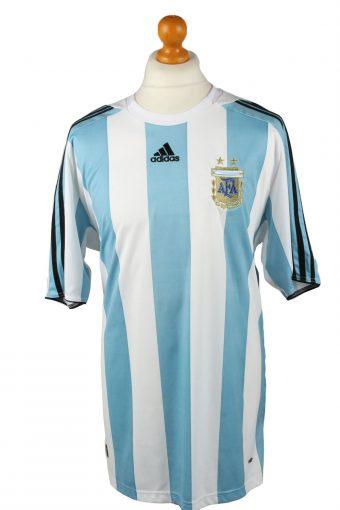 Adidas Football Jersey Shirt Argentine Football Association AFA Turquoise XL
