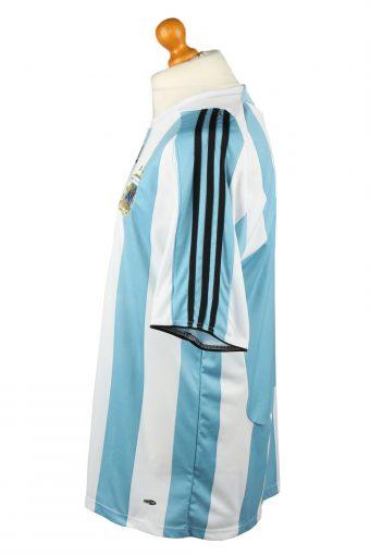 Vintage Adidas Football Jersey Shirt T-Shirt Argentine Football Association AFA XL Turquoise TS627-142820