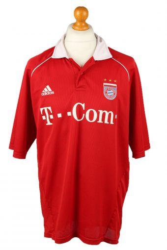 Adidas Football Jersey Shirt FC Bayern Munich Bundesliga Red XXL