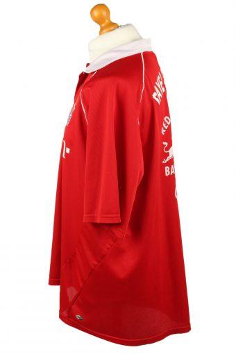 Vintage Adidas Football Jersey Shirt T-Shirt FC Bayern Munich Bundesliga 2XL Red TS631-142836