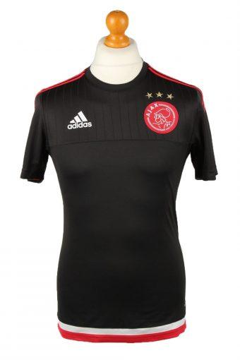 Adidas Football Jersey Shirt AFC Ajax Amsterdam Black S