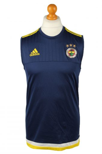 Adidas Jersey Shirt Top Fenerbahce Sports Club Navy Blue M