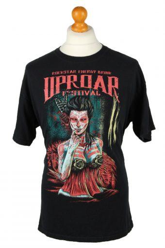 Uproar Festival 2011 T-Shirt Crew Neck Black L