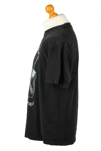 Vintage Killer Rabit Unisex T-Shirt Shirt Tee Crew Neck Run Away L Black TS657-143055