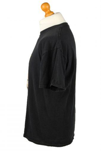 Vintage Jerzees Unisex T-Shirt Shirt Tee Crew Neck Maseca En La Cocina Estrellas L Black TS658-143059