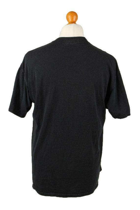 Vintage Jerzees Unisex T-Shirt Shirt Tee Crew Neck Maseca En La Cocina Estrellas L Black TS658-143060