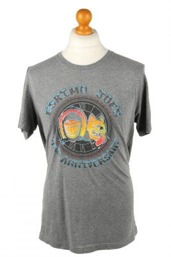 90s Retro Eskimo Joe's T-Shirt Crew Neck 43th Anniversary Grey L