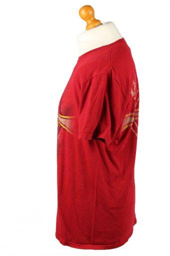 Vintage Crucifix Unisex T-Shirt Shirt Tee Crew Neck Jeremiah 20:11 L Red TS670-143107