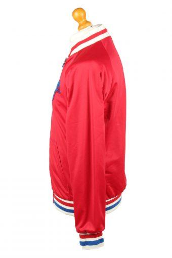 Vintage Zara Man Baseball Jacket Red L -C1955-143576