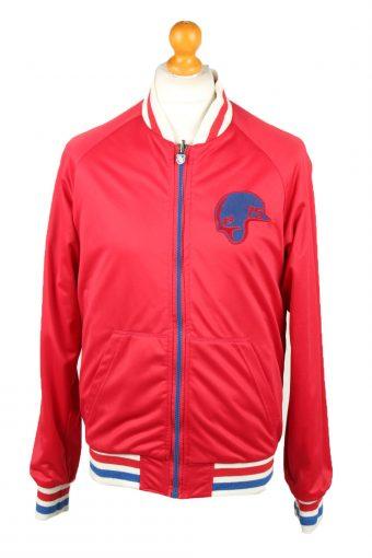 Vintage Zara Man Baseball Jacket Red L