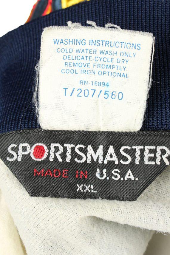 Vintage Sports Master Baseball Jacket Navy -C1959-143594