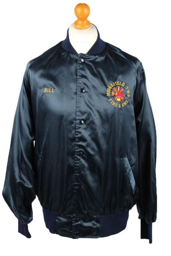 Vintage Sports Master Baseball Jacket Navy -C1959-0