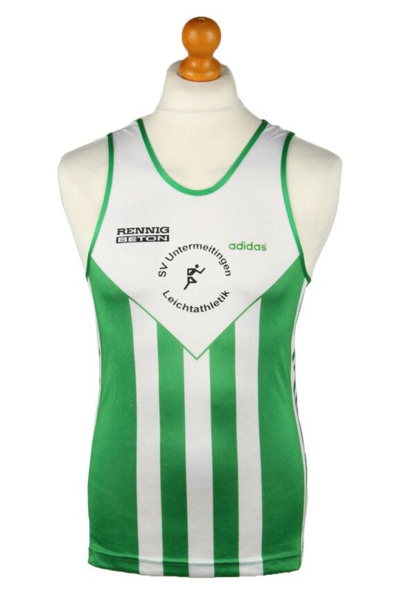 Vintage Adidas Running Sports Jersey Shirt SV Untermenzing e.V. 34/36 Green CW0827-0