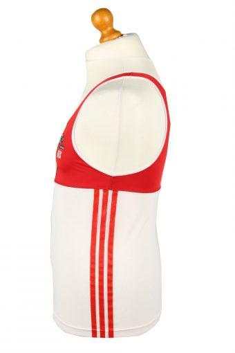 Vintage Adidas Running Jersey Shirt Athletics SLV FSA S Red CW0830-143231
