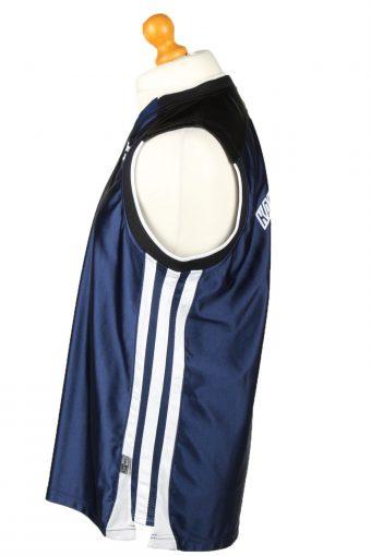 Vintage Adidas Basketball Jersey Shirt Kandi Basketball Camp 2001 8T Navy CW0831-143235