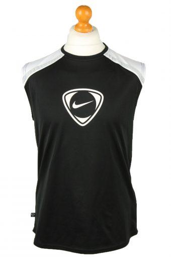 Nike Basketball Jersey Shirt Training Tank Vest 39/41 Black M