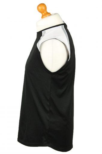 Vintage Nike Basketball Jersey Shirt Training Tank Vest 39/41 Black CW0837-143259