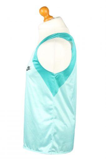 Vintage Nike Basketball Jersey Shirt Training Tank Vest XL Turquoise Green CW0838-143263