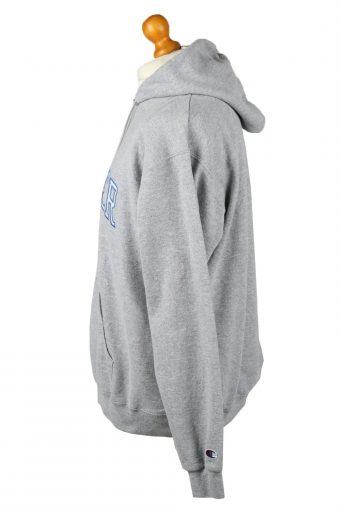 Vintage Champion Zip Up Hoodie Unisex XL Grey -SW2622-143656