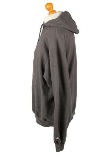 Vintage Champion Hoodie Unisex L Grey -SW2629-143684