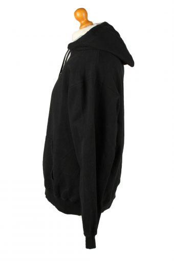 Vintage Champion Hoodie Unisex XL Black -SW2633-143700