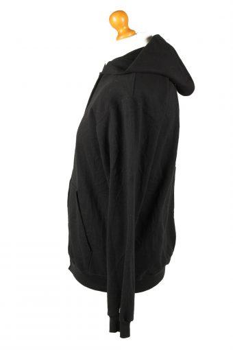 Vintage Champion Zip Up Hoodie Sweatshirt YXL Black -SW2635-143708