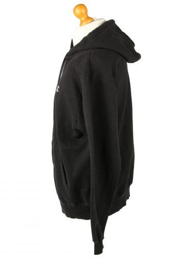 Vintage Champion Hoodie Sweatshirt Unisex L (USA) Black -SW2636-143712