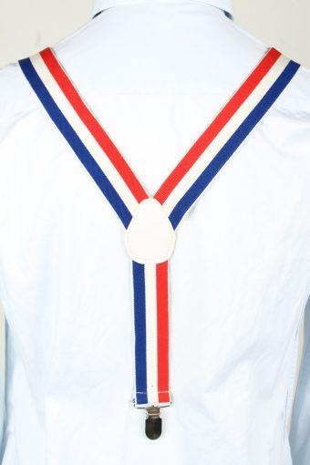 Vintage Adjustable Elastic Braces Suspenders 90s Multi BS005-143839