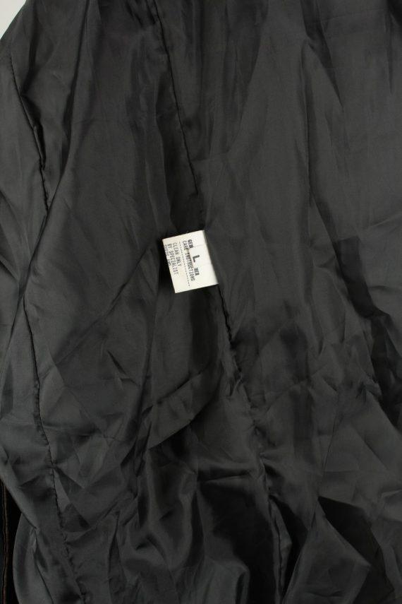 Vintage Womens Collezione Suede Jacket Coat L Dark Brown -C2004-144770