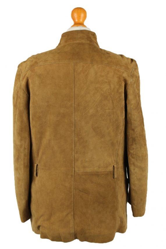 Vintage Womens Suede Jacket Coat 42 Brown -C2006-144777