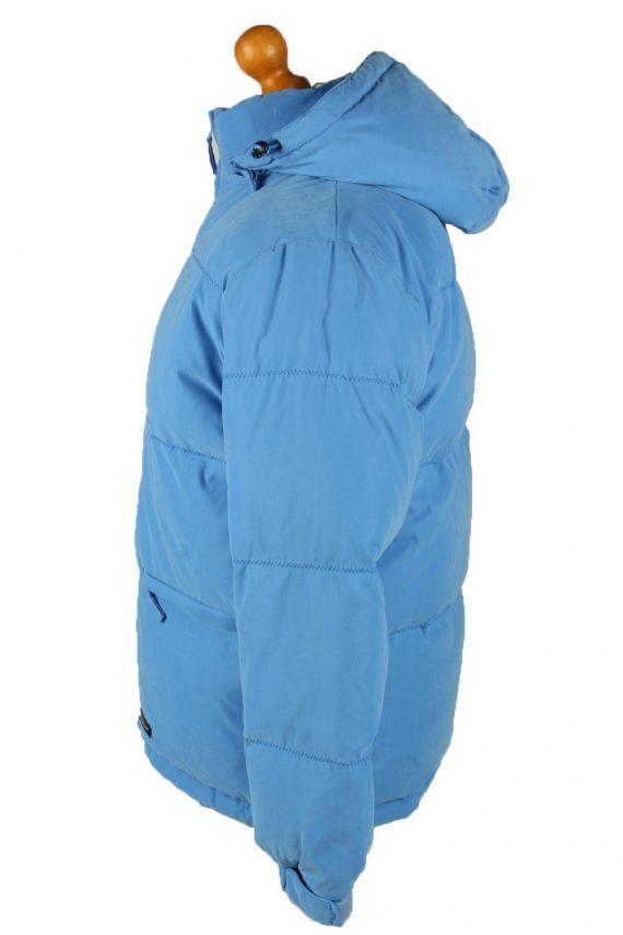 Vintage Mens Champion Puffer Coat Jacket M Blue -C2025-144852