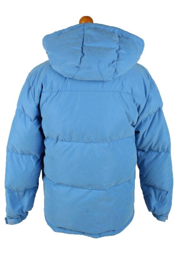 Vintage Mens Champion Puffer Coat Jacket M Blue -C2025-144853
