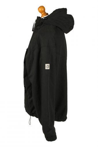 Vintage Unisex Jack Wolfskin Hooded Puffer Coat Jacket L Black -C2026-144856