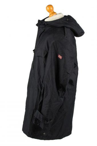 Vintage Mens Scharrer Untergriesbach Military Hooded Parka Coat 80s 52 Navy -C2044-145002