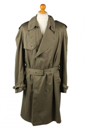 Vintage Mens Jupiter Full Length Trench Coat 90s 52 Khaki