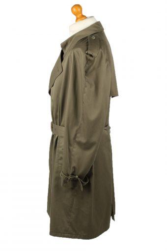 Vintage Mens Jupiter Full Length Trench Coat 90s 52 Khaki -C2046-145010